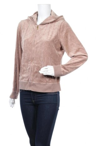 Дамски суичър Plush & Lush, Размер XL, Цвят Бежов, 75% памук, 25% полиестер, Цена 9,66лв.