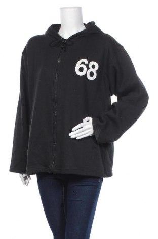 Дамски суичър Sportswear, Размер L, Цвят Черен, 65% памук, 35% полиестер, Цена 14,49лв.