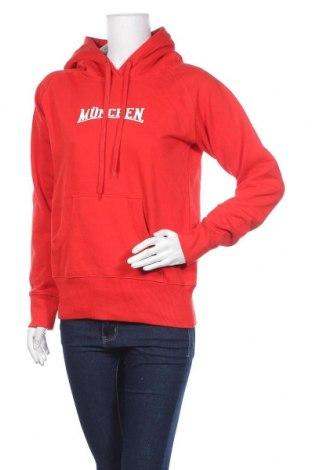 Дамски суичър Spread Shirt, Размер M, Цвят Червен, 80% памук, 20% полиестер, Цена 14,49лв.