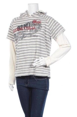 Дамски суичър Spykar Jeans, Размер XL, Цвят Сив, Цена 5,51лв.