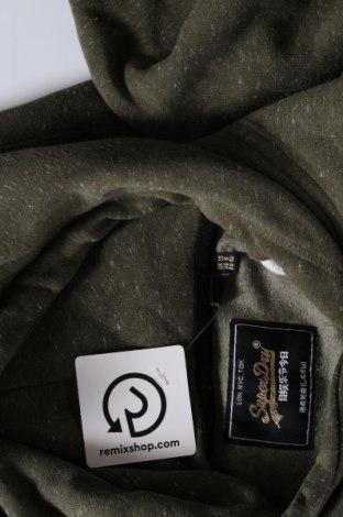 Дамски суичър Superdry, Размер M, Цвят Зелен, 71% памук, 23% полиестер, 6% вискоза, Цена 60,00лв.