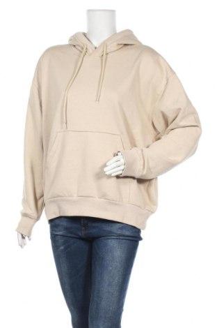 Дамски суичър Weekday, Размер S, Цвят Бежов, 80% памук, 20% полиестер, Цена 48,75лв.