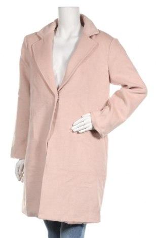 Дамско палто Even&Odd, Размер S, Цвят Розов, 80% полиестер, 200% вискоза, Цена 56,33лв.