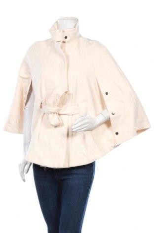 Дамско палто Forever New, Размер XS, Цвят Екрю, 65% полиестер, 34% вискоза, 1% еластан, Цена 18,90лв.