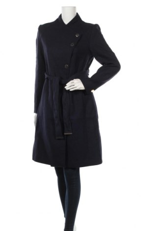 Дамско палто Mint & Berry, Размер M, Цвят Син, 20% вълна, 80% полиестер, Цена 104,41лв.