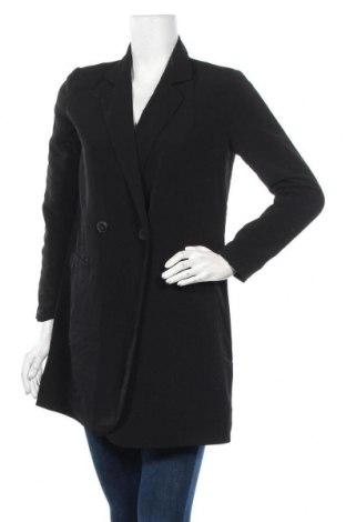 Дамско палто Vero Moda, Размер S, Цвят Черен, Полиестер, Цена 17,64лв.