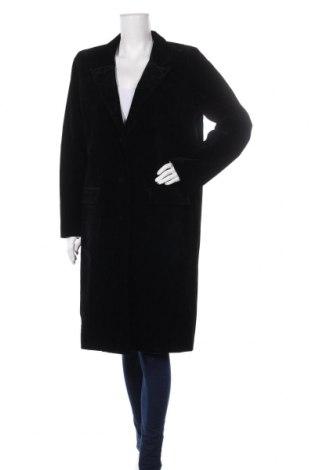 Дамско палто Y.A.S, Размер XL, Цвят Черен, Полиестер, Цена 96,39лв.