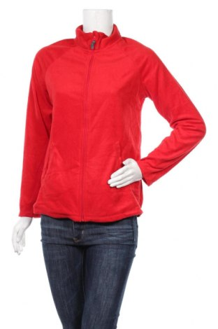 Дамско поларено горнище Carole Hochman, Размер S, Цвят Червен, Полиестер, Цена 14,33лв.