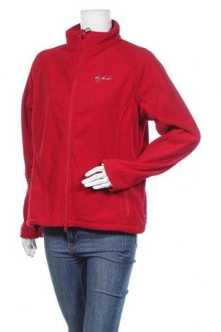 Дамско поларено горнище Dry Fashion, Размер L, Цвят Червен, Полиестер, Цена 34,17лв.
