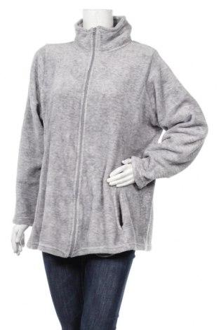 Дамско поларено горнище Janina, Размер XXL, Цвят Сив, Полиестер, Цена 16,54лв.