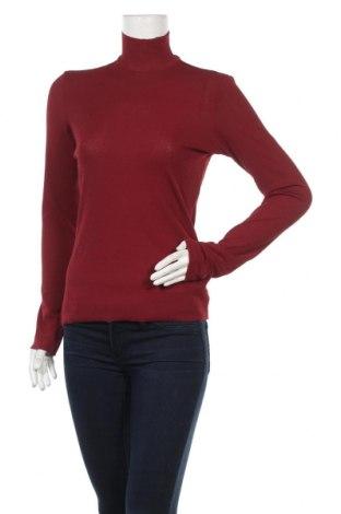Дамско полo Monki, Размер M, Цвят Червен, 91% полиестер, 9% еластан, Цена 32,16лв.
