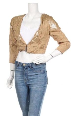 Дамско сако Gina Tricot, Размер M, Цвят Бежов, 100% вискоза, Цена 6,04лв.