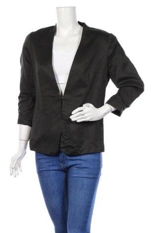 Дамско сако H&M, Размер M, Цвят Черен, 48% лен, 52% вискоза, Цена 10,92лв.