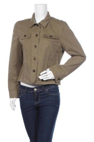 Дамско яке, Размер L, Цвят Зелен, Памук, Цена 10,24лв.
