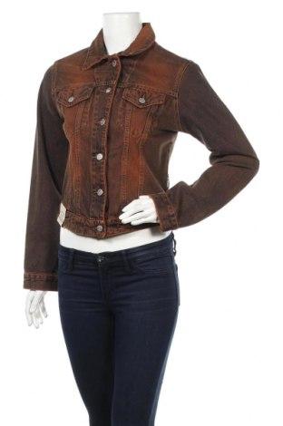 Дамско яке, Размер M, Цвят Кафяв, 100% памук, Цена 32,30лв.