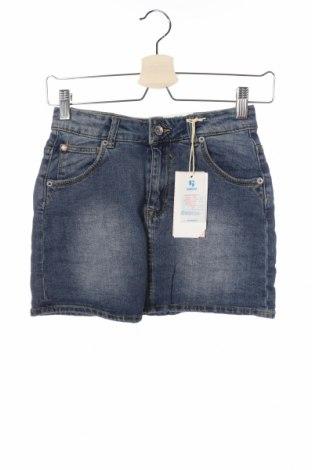 Παιδική φούστα Garcia Jeans, Μέγεθος 11-12y/ 152-158 εκ., Χρώμα Μπλέ, 99% βαμβάκι, 1% ελαστάνη, Τιμή 6,93€