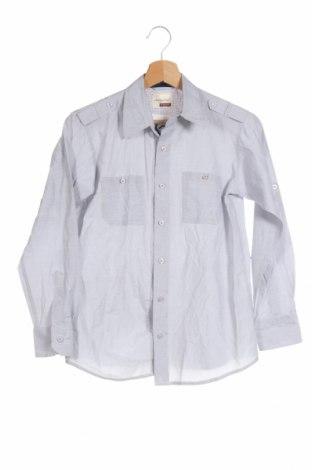 Детска риза Sovereign, Размер 14-15y/ 168-170 см, Цвят Син, 55% памук, 45% полиестер, Цена 4,64лв.
