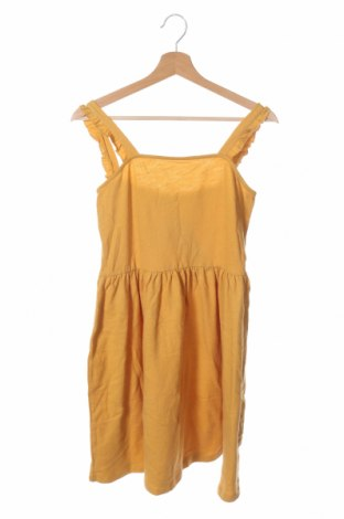 Детска рокля Friboo, Размер 12-13y/ 158-164 см, Цвят Жълт, 100% памук, Цена 29,68лв.