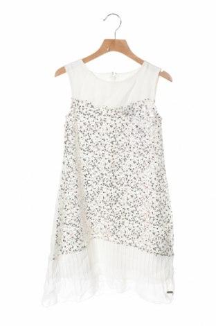Παιδικό φόρεμα Guess, Μέγεθος 7-8y/ 128-134 εκ., Χρώμα Λευκό, 100% πολυεστέρας, Τιμή 21,35€