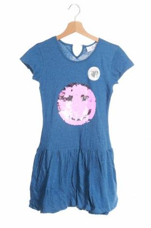 Παιδικό φόρεμα Happy Girls By Eisend, Μέγεθος 9-10y/ 140-146 εκ., Χρώμα Μπλέ, Βαμβάκι, Τιμή 9,31€