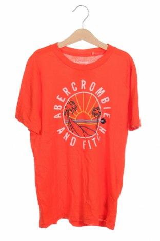 Παιδικό μπλουζάκι Abercrombie Kids, Μέγεθος 11-12y/ 152-158 εκ., Χρώμα Πορτοκαλί, 60% βαμβάκι, 40% πολυεστέρας, Τιμή 13,08€