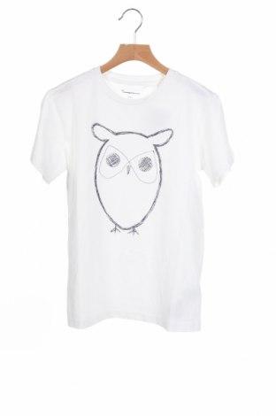 Παιδικό μπλουζάκι Knowledge Cotton Apparel, Μέγεθος 10-11y/ 146-152 εκ., Χρώμα Λευκό, Βαμβάκι, Τιμή 17,18€