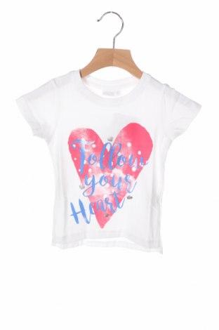 Детска тениска Schiesser, Размер 18-24m/ 86-98 см, Цвят Бял, 95% памук, 5% еластан, Цена 14,00лв.