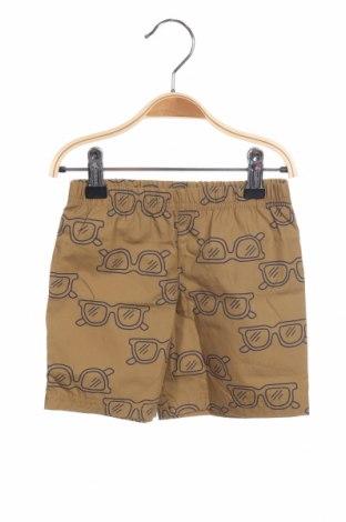 Παιδικό κοντό παντελόνι Carter's, Μέγεθος 12-18m/ 80-86 εκ., Χρώμα  Μπέζ, Βαμβάκι, Τιμή 10,52€