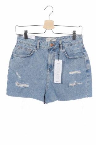 Παιδικό κοντό παντελόνι New Look, Μέγεθος 14-15y/ 168-170 εκ., Χρώμα Μπλέ, 100% βαμβάκι, Τιμή 9,84€