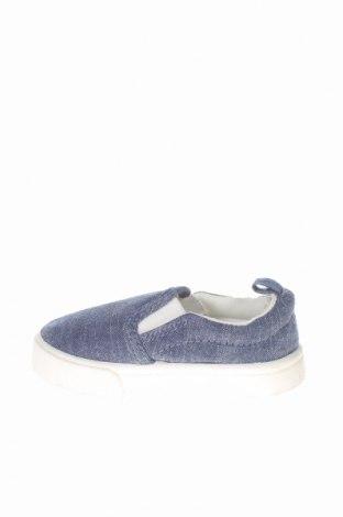 Παιδικά παπούτσια H&M, Μέγεθος 18, Χρώμα Μπλέ, Κλωστοϋφαντουργικά προϊόντα, Τιμή 5,23€