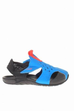 Παιδικά σανδάλια Nike, Μέγεθος 25, Χρώμα Μπλέ, Δερματίνη, Τιμή 19,00€