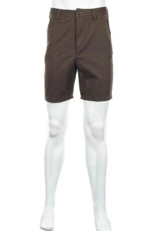 Мъжки къс панталон Your Turn, Размер XS, Цвят Кафяв, 65% полиестер, 35% памук, Цена 18,62лв.