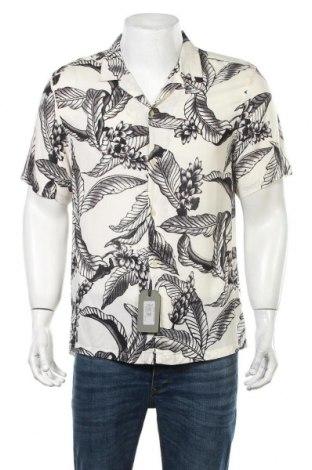 Ανδρικό πουκάμισο AllSaints, Μέγεθος L, Χρώμα Μαύρο, Βισκόζη, Τιμή 35,72€
