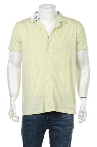 Мъжка риза Boohoo, Размер L, Цвят Зелен, Памук, Цена 6,06лв.