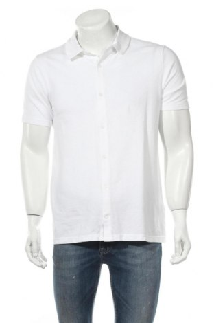 Мъжка риза Burton of London, Размер M, Цвят Бял, 100% памук, Цена 36,40лв.