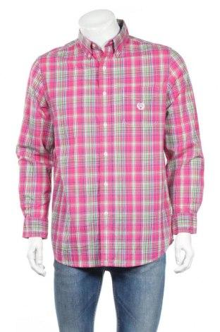 Мъжка риза Chaps, Размер M, Цвят Многоцветен, 60% памук, 40% полиестер, Цена 5,36лв.