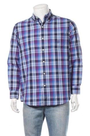 Мъжка риза Chaps, Размер M, Цвят Многоцветен, 60% памук, 40% полиестер, Цена 6,62лв.