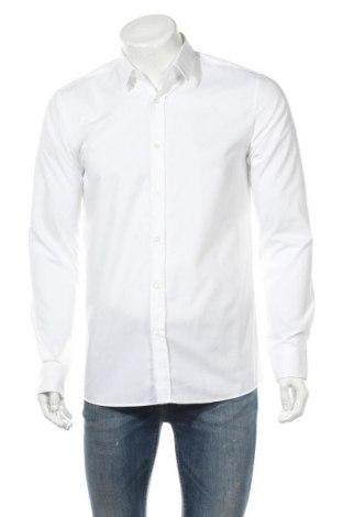 Мъжка риза Hugo Boss, Размер M, Цвят Бял, Памук, Цена 48,20лв.