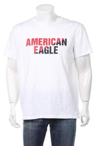 Ανδρικό t-shirt American Eagle, Μέγεθος XL, Χρώμα Λευκό, Βαμβάκι, Τιμή 7,09€