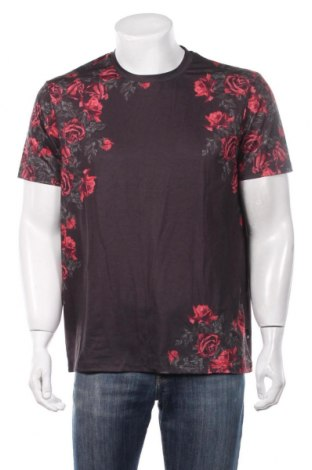 Мъжка тениска Burton of London, Размер L, Цвят Сив, 93% полиестер, 5% еластан, 2% вискоза, Цена 27,30лв.