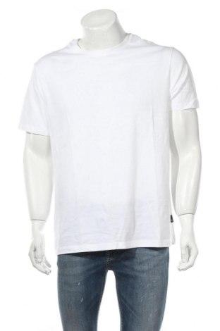 Мъжка тениска Burton of London, Размер L, Цвят Бял, Памук, Цена 24,70лв.