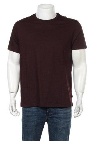 Мъжка тениска Burton of London, Размер L, Цвят Лилав, Памук, Цена 24,70лв.