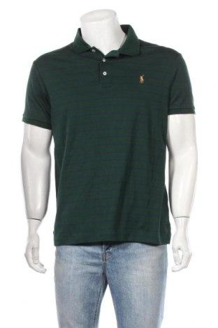 Мъжка тениска Polo By Ralph Lauren, Размер XL, Цвят Зелен, Памук, Цена 67,20лв.