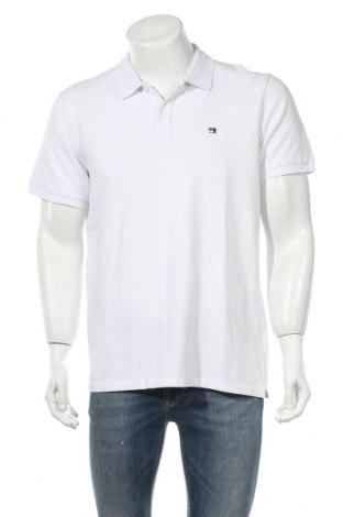 Мъжка тениска Scotch & Soda, Размер XL, Цвят Бял, Памук, Цена 54,60лв.