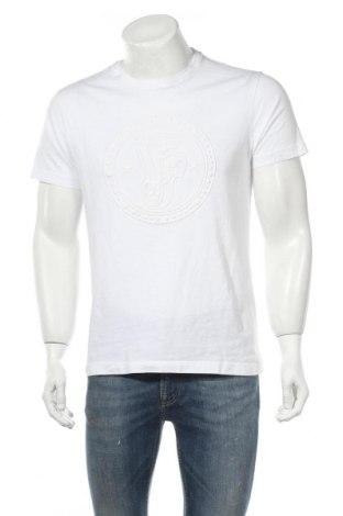 Мъжка тениска Versace Jeans, Размер M, Цвят Бял, Памук, Цена 63,60лв.