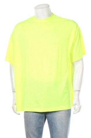 Ανδρικό t-shirt Weekday, Μέγεθος XS, Χρώμα Κίτρινο, Βαμβάκι, Τιμή 6,43€
