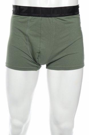 Мъжки боксерки Undiz, Размер XL, Цвят Зелен, 95% памук, 5% еластан, Цена 15,75лв.