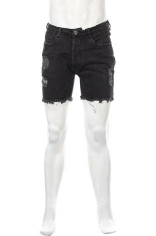 Ανδρικό κοντό παντελόνι Brave Soul, Μέγεθος S, Χρώμα Γκρί, 98% βαμβάκι, 2% ελαστάνη, Τιμή 8,24€