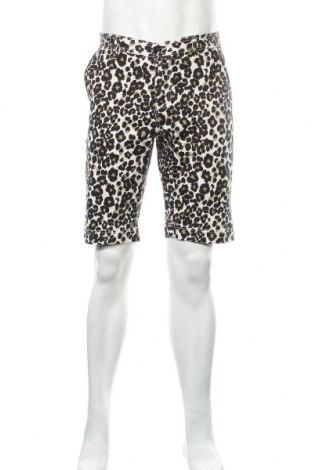 Мъжки къс панталон Urban Classics, Размер L, Цвят Многоцветен, 98% памук, 2% еластан, Цена 23,32лв.