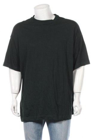 Ανδρικό t-shirt Weekday, Μέγεθος XS, Χρώμα Πράσινο, Βαμβάκι, Τιμή 6,20€
